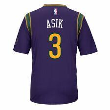 Omer Asik New Orleans Pelicans Purple Official Climacool Pride Swingman Jersey