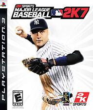 PS3 Major League Baseball 2K7 Video Game 720p HD Batting Control - Online Action