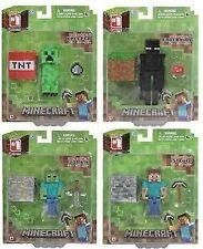"""Minecraft-Elige Tu Figura - 3 """"Figura Enderman, Steve, Zombie, Creeper Nuevo"""