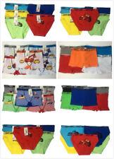 Lot of 5 Boys Seamless Boxer Bikini Short Kids Spandex Underwear Boy Briefs