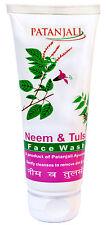 Patanjali Herbal Neem & Tulsi With Aloe Vera Face Wash 60 gm