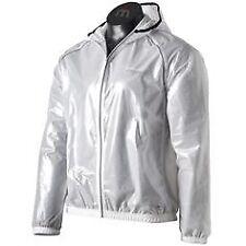 Spiro uomo donna Riflettente Corsa Ciclismo Pioggia Wind Jacket Coat Hi Vis Top