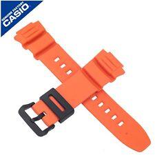 Genuine Casio Watch Strap Band for MCW-100H-4AV MCW 100H 100 ORANGE 10526077