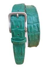 Cintura in Schiena di Coccodrillo altezza 4 cm unisex