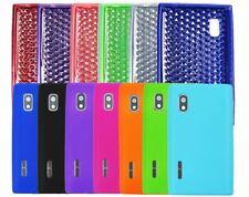 Coque Housse Étui en Silicone TPU Polycarbonate Cuir pour LG Optimus E610
