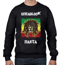Dreadlock Rasta Reggae Men's Sweatshirt Jumper - Bob Marley