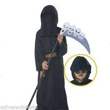 Costume travestimento per Halloween veste da  Stregone con cappuccio