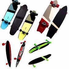 Longboard Lime Green, Guru, DTS oder Ram Sunny Blacker Skateboard