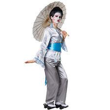 Damen Kostüm Geishakostüm Japanerin Chinesin Halloween Fasching Karneval