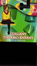 COLLANT POLAIRE NOIR. THERMO . 711. ENFANT