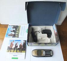 Nokia 6310 i 6310i assolutamente NUOVO OVP JET BLACK telefono automobile Mercedes BMW VW AUDI