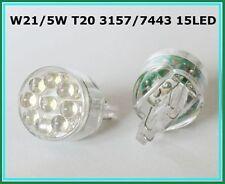 W21/5W 7443 3157 WHITE 15 LED STOP CAR BULBS HONDA