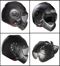 Roof Boxer V8 Flip Up Full Face Motorcycle Motorbike Harley Custom Street Helmet
