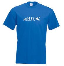 Mens evolution t shirt ape to man evolution kayak evolution t shirt