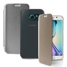 Puro SGS6EDBOOKCCRY Booklet Crystal Eco-Leather Case for Samsung Galaxy S6 Edge.