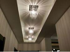 Square Modern Led Aisle Crystal Ceiling Light Fixture Pin Lamp Lighting Corridor
