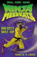 Jones, Gareth P., Big City Bust-up (Ninja Meerkats), Very Good Book