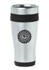 Stainless Steel Insulated 16oz Travel Mug Coffee Cup BMX Mountain  Bike Gears