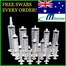 SYRINGES 1ml 3ml 5ml 10ml 20ml 30ml 50ml x Luer Slip / Lock Needles Catheter Tip