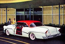 1956 Buick Roadmaster two-door Riviera Model 76R Promotional Advertising Poster