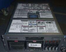 HP Proliant DL580 G2 2 x XEON 2.7Ghz rack mount server