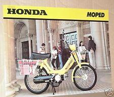 1980 Honda PA50 II MOPED Sales Brochure - Literature