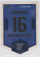 2012 Panini Classics Signatures Banner Numbers #EN64 Brett Hull St. Louis Blues