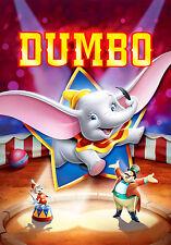 Dumbo Disney Classic Movie Poster | tamaños de A4 a A0 E178 Reino Unido vendedor |