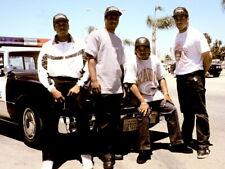 NWA Police Dr Dre MC Ren Eazy-E DJ Yella Gangsta Rap Giant Print POSTER Affiche