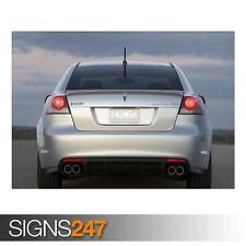 Pontiac G8 GXP voiture 2 (AD264) Voiture Poster-Photo Poster print ART A0 A1 A2 A3 A4