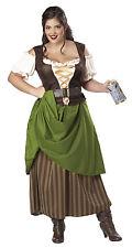 Tavern Maiden Renaissance Medieval Times Plus Size Adult Costume