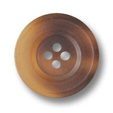 2217gr 10 rustikale grün melierte Kunststoff Knöpfe in Horn Optik