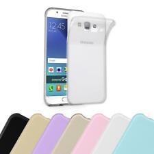 Schutz Hülle für Samsung Galaxy A8 2015 Handy Cover Case TPU Ultra Slim Bumper