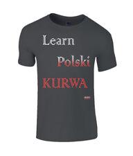 Learn Polski Black T-shirt