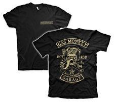 Officially Licensed Gas Monkey Garage Big Patch Men's T-Shirt S-XXL Sizes