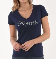 Tee shirt Kaporal Femme manches courtes SAUJE PEACOA