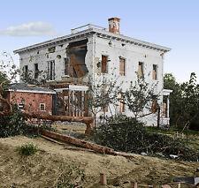 Flipper Ponder House Atlanta, Ga Color Tinted photo Civil War 02229