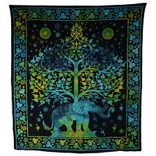Kunst und Magie Wandbehang Elefant und Baum ca. 230 x 200 cm