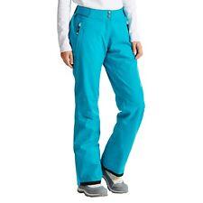 Womens DARE2B STAND II FOR SEA BREEZE BLUE Stretch Ski Pants SHORT LEG