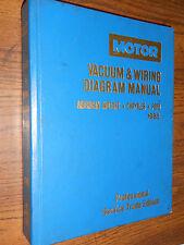 1985 AMERICAN MOTORS / FORD / CHRYSLER MOTORS MASTER WIRING / VACUUM DIAGRAM SET