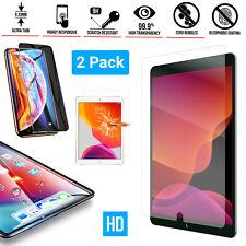 New 2 Pack iPad 9.7 2018//17 Premium Screen Protector Guard Anti-Scratch HD Free