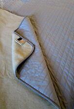 """lit supérieur """" couleur argent """",Couvre-lit,couvre-lit 100% laine fabriqué en"""