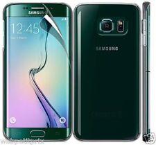 ULTRA sottile Crystal Clear Hard Back Case Cover per Samsung Galaxy S6 EDGE + PELLICOLA