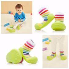 Attipas Rainbow Vert Infant Taille Chaussures Sensibles pieds élégante Antidérapante Bottes