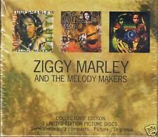 Marley, Ziggy Conscious Party/Jahmekya/On 3 Pic. CD BOX