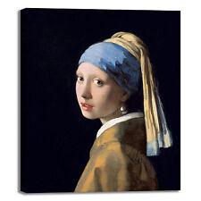Vermeer ragazza con orecchino di perla quadro stampa tela dipinto telaio arredo