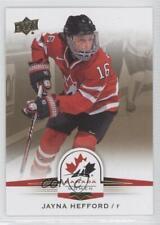 2014 Upper Deck Team Canada Juniors Gold Sepia #72 Jayna Hefford (National Team)