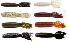 "Gary Yamamoto Fat Ika Bass Fishing Creature Bait Grub Lure Bait 4"" 10 Pk"