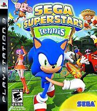 Sega Superstars Tennis (Sony PlayStation 3, 2008)