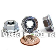 Metric Hex Flange Lock Nuts DIN 6923 Class 8 Alloy M5 M6 M8 M10 Coarse Zinc CR+3
